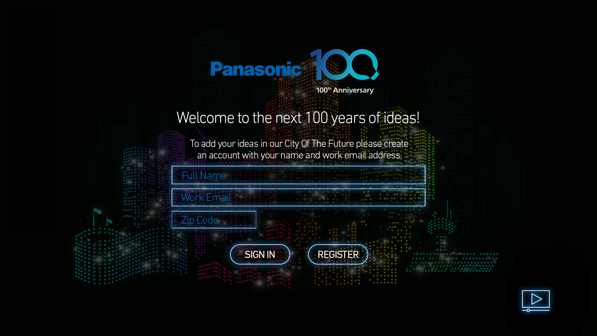 Panasonic all screens v10 aj 1